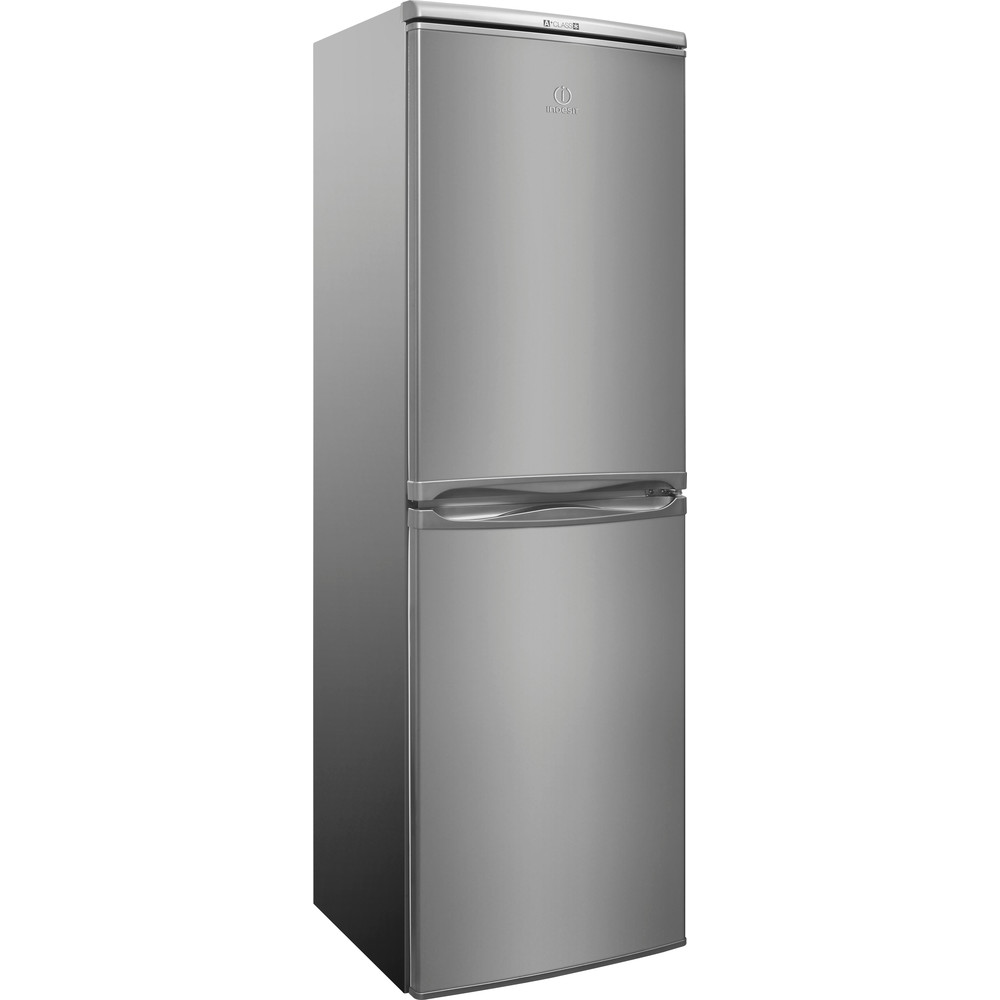 Indesit Fridge Freezer Inox CAA55NX / A+ - Melec Costa